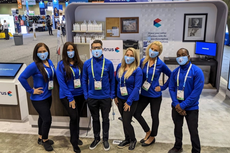 TPG Provides an Entire Trade Show Team for Client at VMX 2021